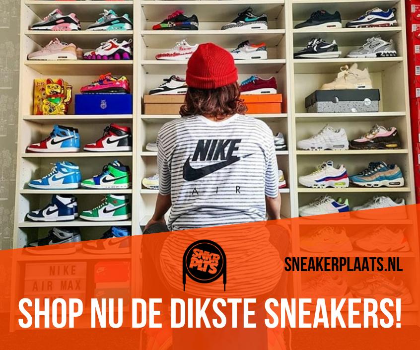 Shop nu de dikste sneakers in de sneakerzoekmachine van Sneakerplaats.nl