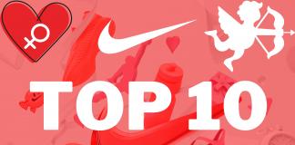 Top 10 dikste en nieuwste Nike dames sneakers - 20% korting Nike Valentijnsactie