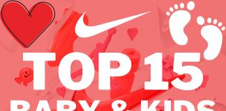 Top 15 Nike babysneakers en Nike kindersneakers die je nu kunt scoren met 20% korting in de Nike Valentijnsactie