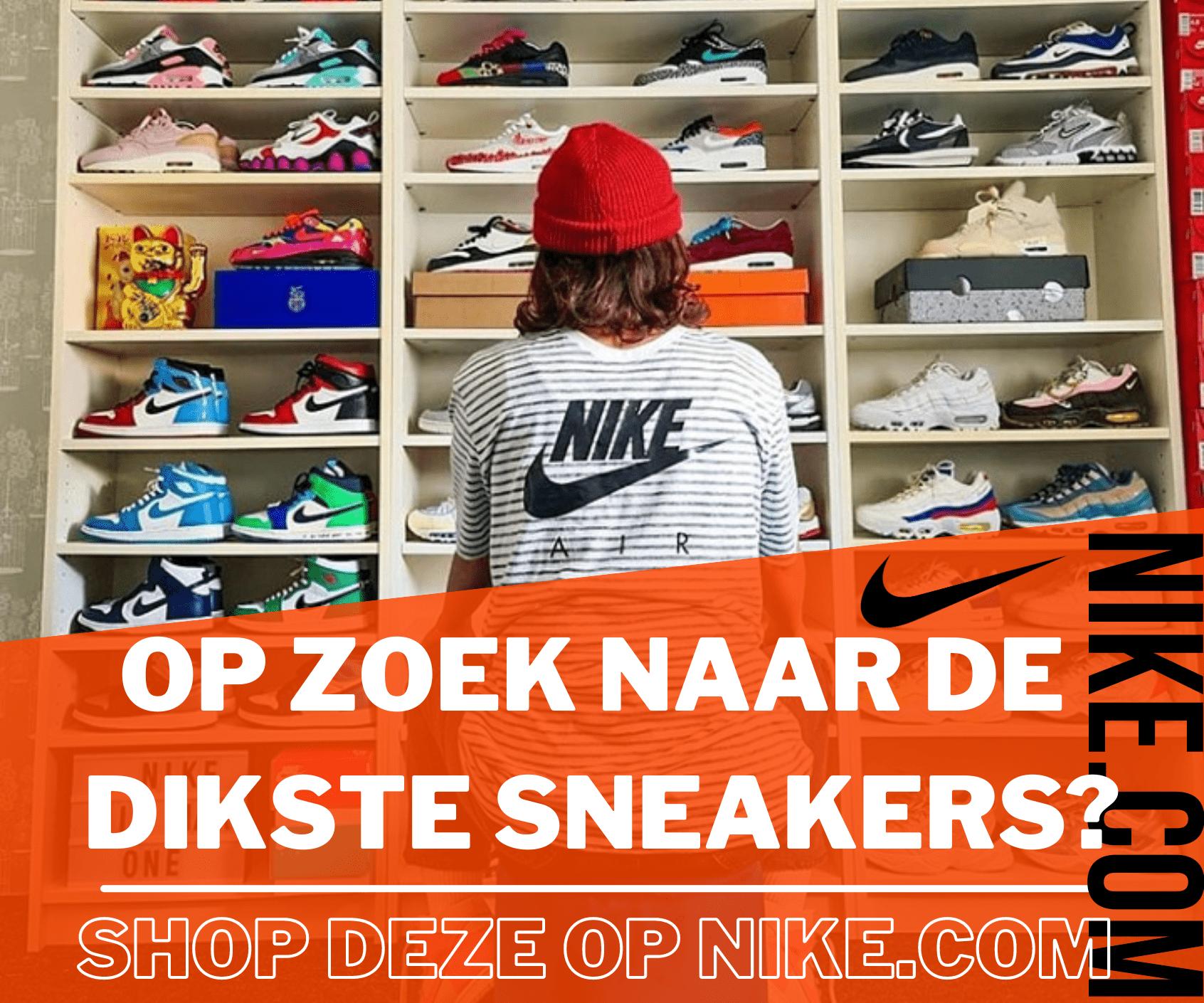 Op zoek naar de dikste sneakers?