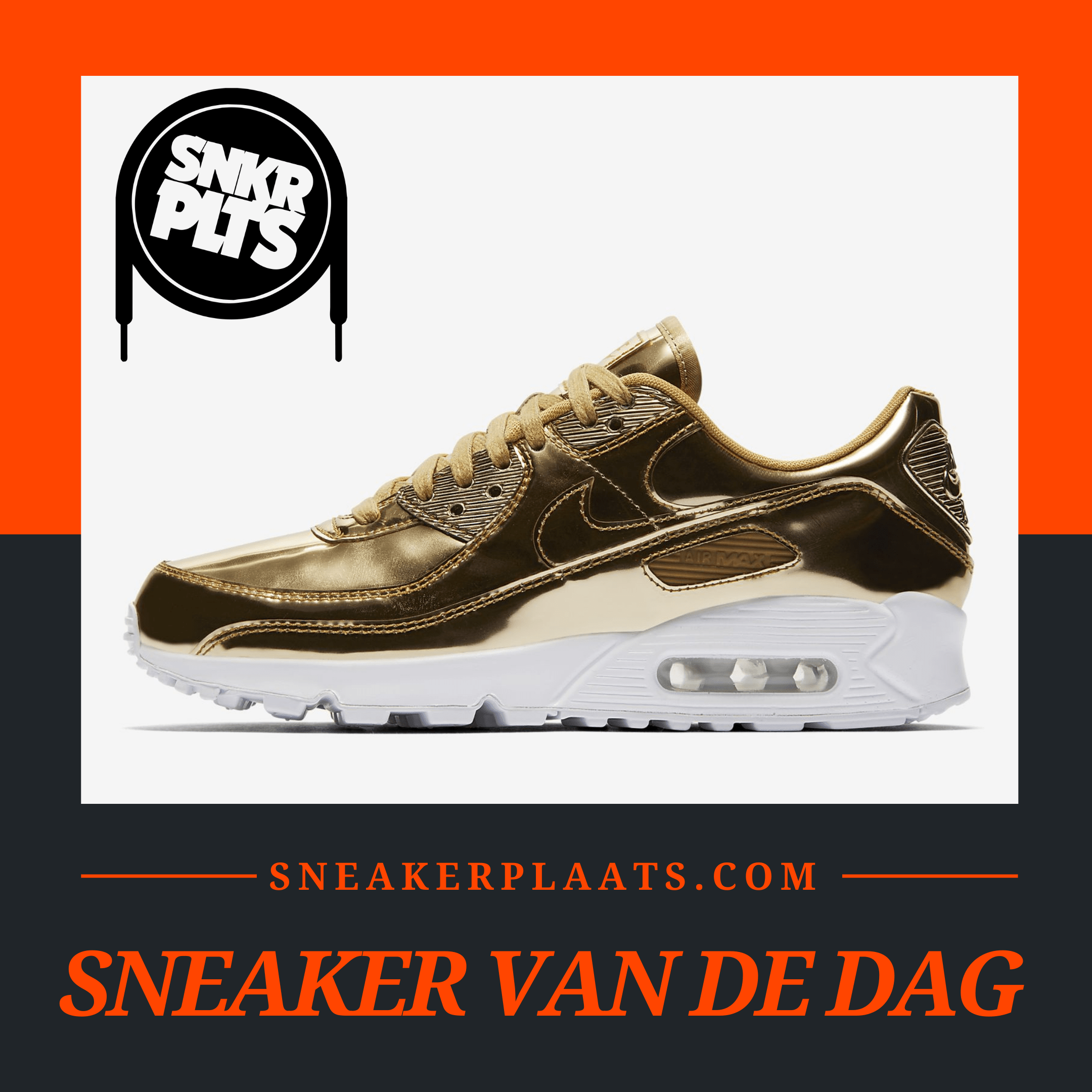 Nike Air Max 90 SP Gold
