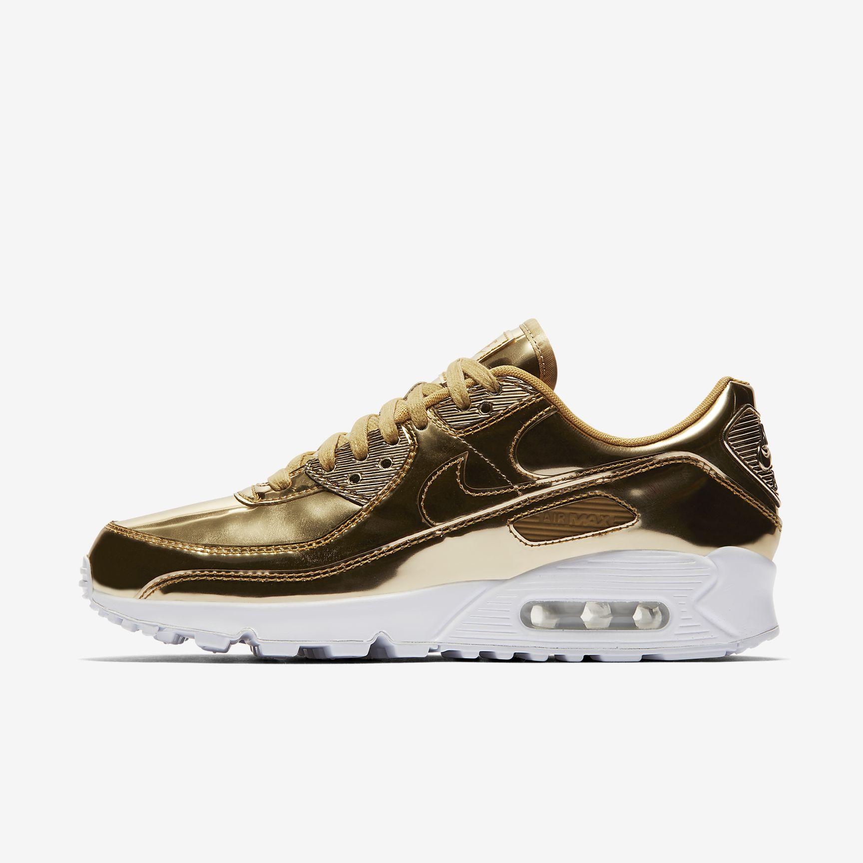 """Schoen - Nike Air Max 90 SP """"Goud"""""""