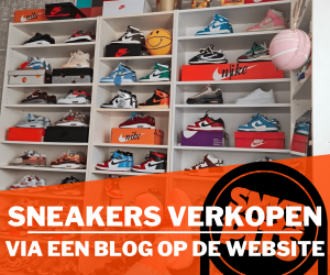 Sneakers verkopen via een blog op Sneakerplaats