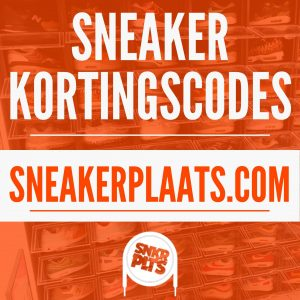 Sneaker kortingscode