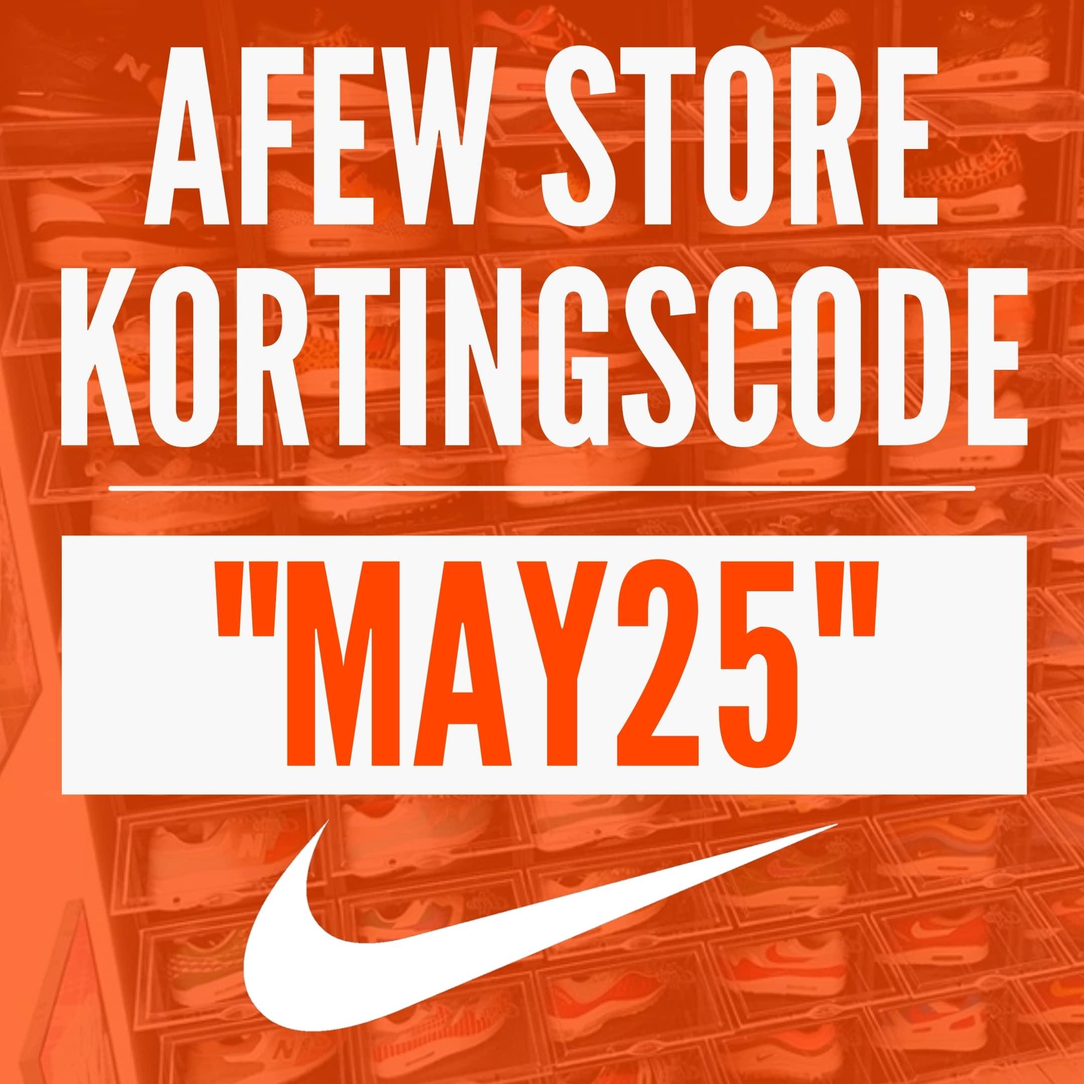 AFEW Store kortingscode