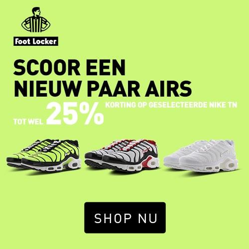 Footlocker sale Nike Air Max Tuned scoren met 25% korting