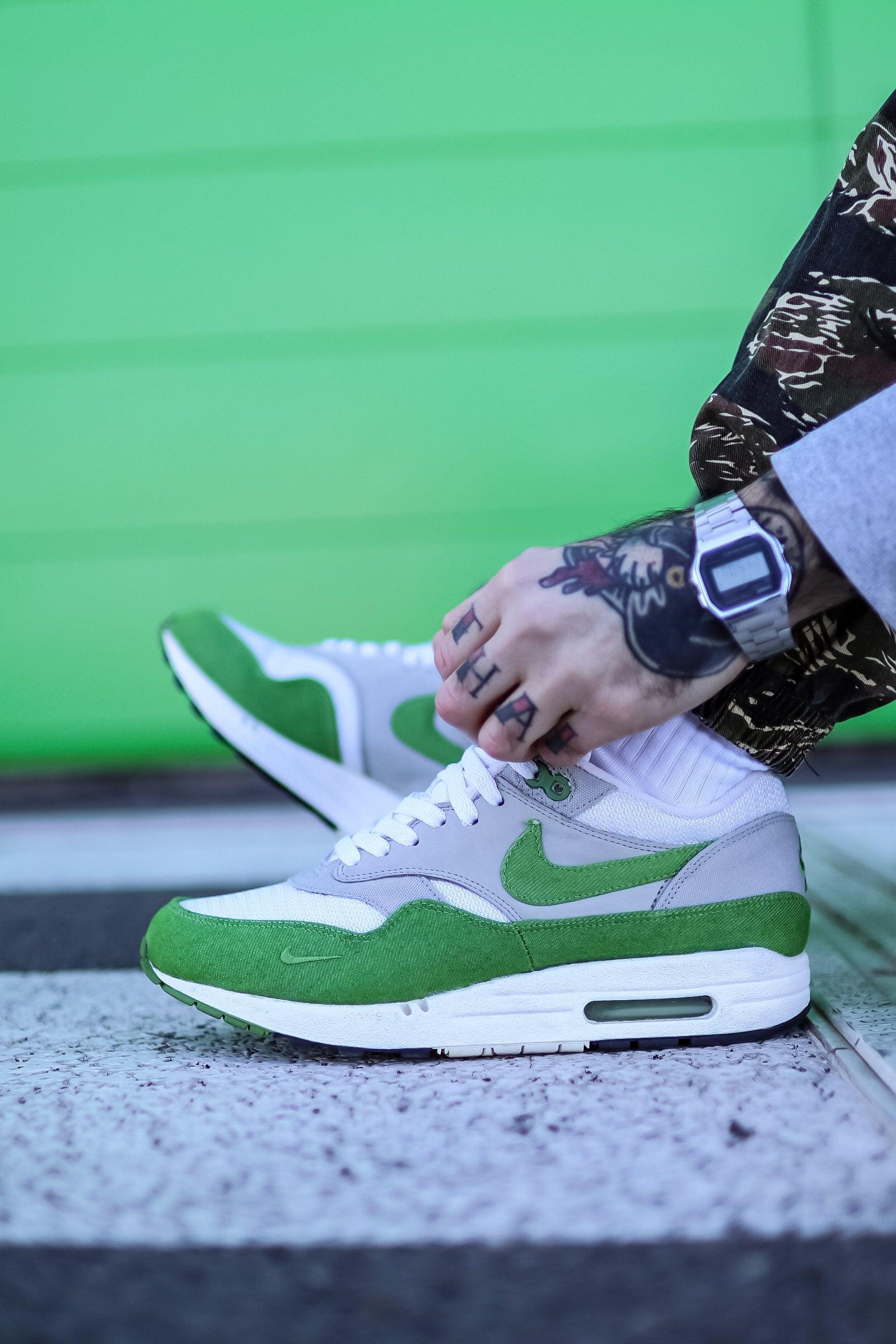 Atmos x Nike Air Max 1 Chlorophyll