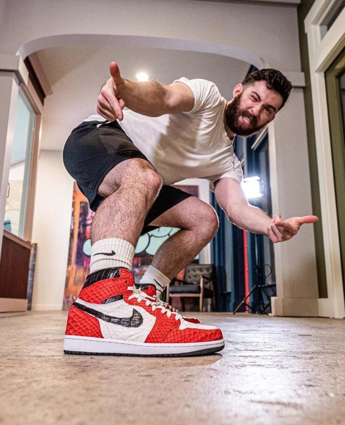 Sneaker customizer @tagzartwork Sneakerplaats interview