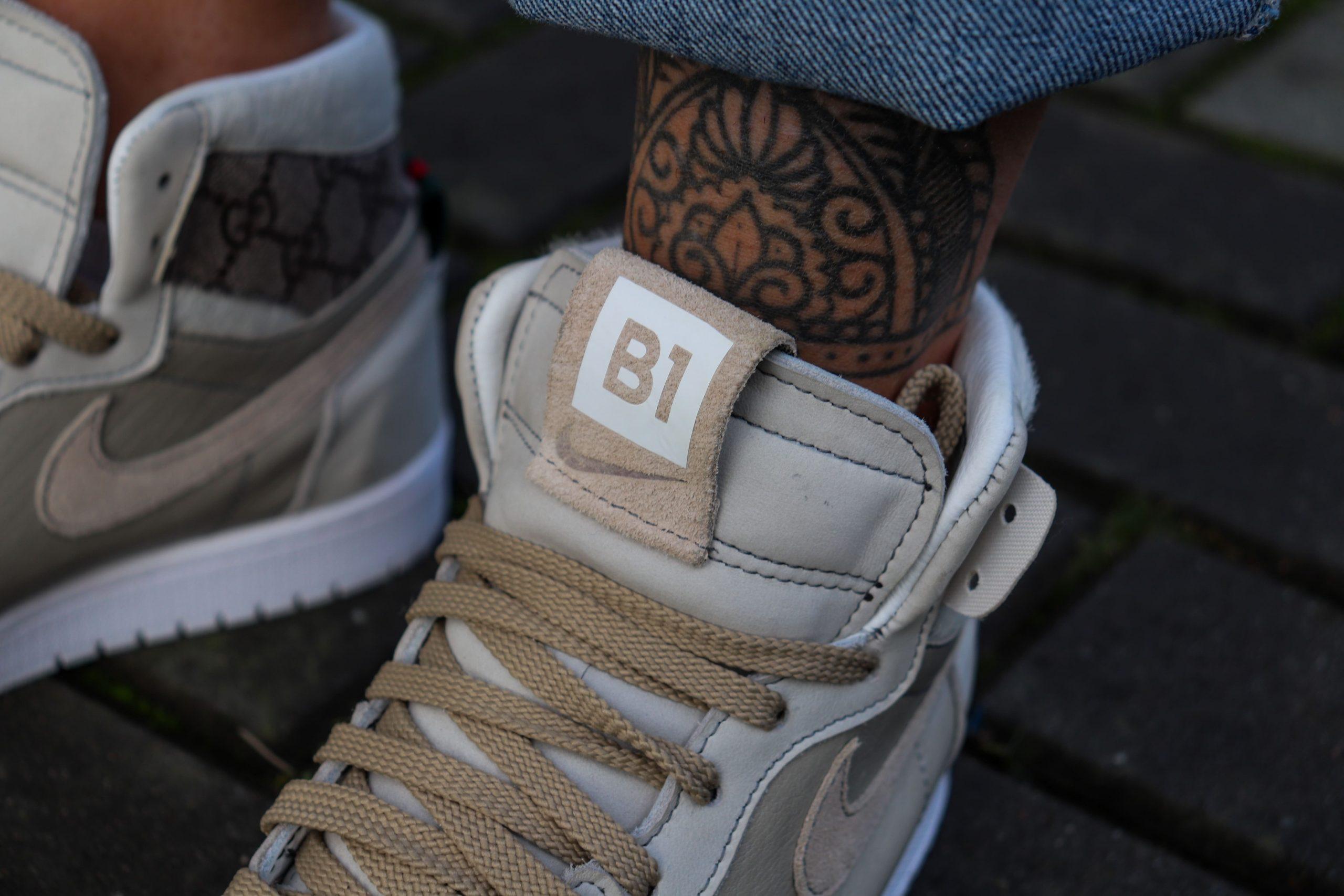 Jordan 1 Bespoke handgemaakte sneakers