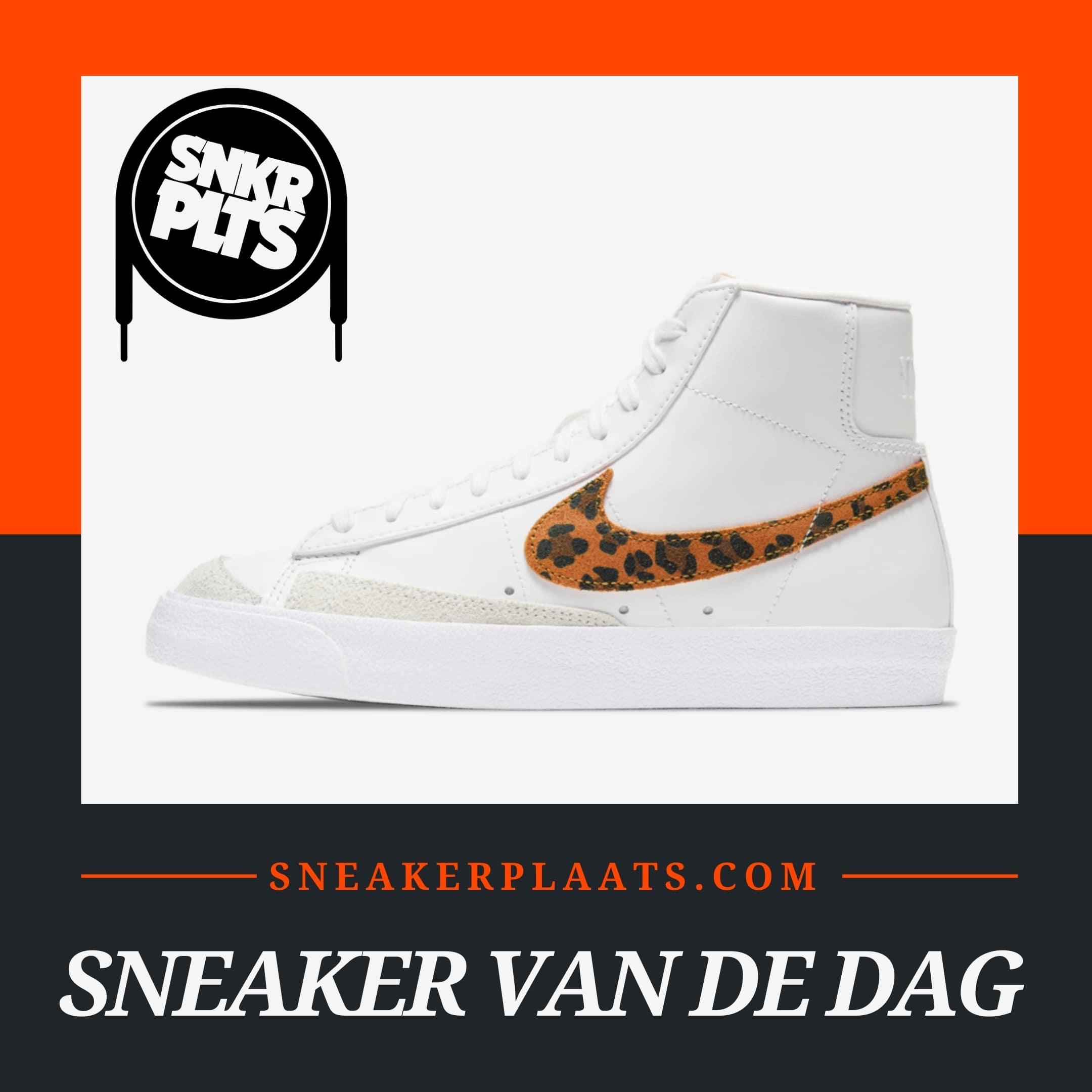 "Nike Blazer Mid 77 SE ""White Leopard"""