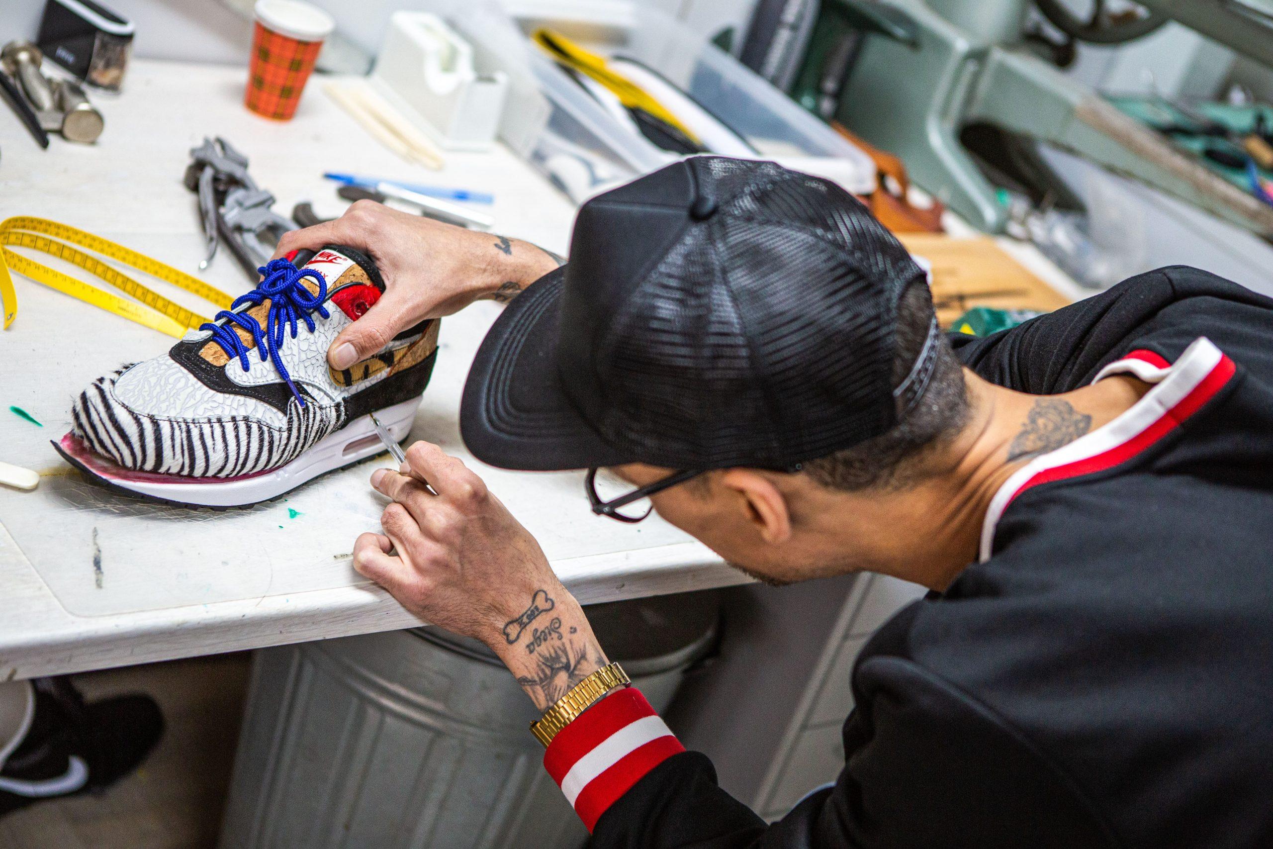 Cursus sneakers maken bij Sneakersschool